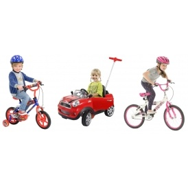 Extra 20% Off Bikes, Ride-Ons & Scooters