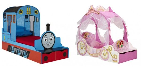 Thomas, Frozen, Cars, Disney Toddler Feature Beds £159.99 @ Very