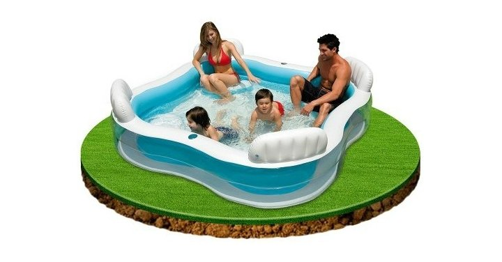 Intex family lounge pool delivered net price direct - Family pool aldi ...