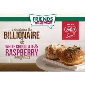 NEW Biscoff Doughnuts @ Krispy Kreme