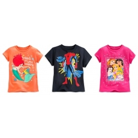 Kids T-Shirts 2 For £12 @ Disney Store