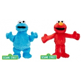 Cookie Monster or Elmo Soft Toys £1.99