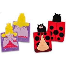 Ladybird/Princess Poncho £4.99 Delivered