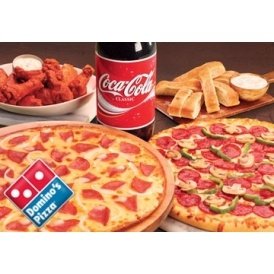 50% Off Everything @ Domino's