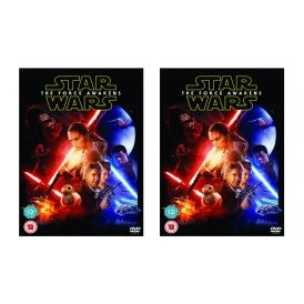 Star Wars: The Force Awakens DVD £8