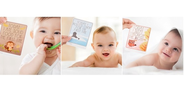(Expired) Baby Milestone Cards £4 (Using Code) @ Amazon Seller AKKA Baby