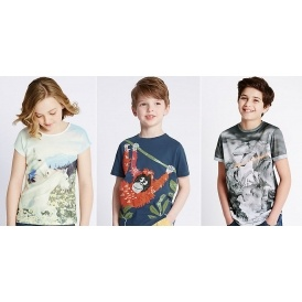 Kids Augmented Reality Tees @ M&S