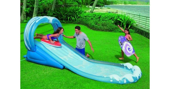 intex surf n slide instructions