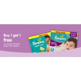 Pampers Mega Packs BOGOF @ Boots