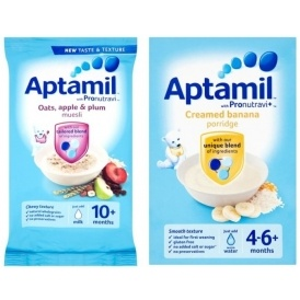 Aptamil Baby Food: THREE For £2 (With Code)