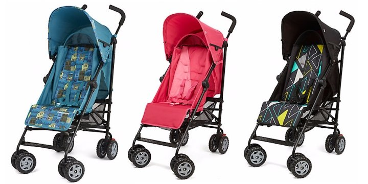 Mothercare Nanu Strollers From £34.99 @ Mothercare