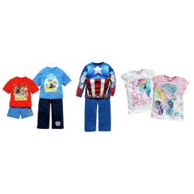 Up To 50% Off Character Clothing @ Argos