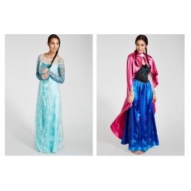 Anna & Elsa Adult Costumes £15 Matalan