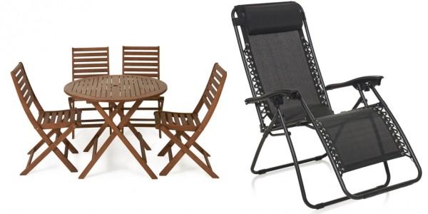 Bank Holiday Garden Furniture Deals @ Wilko