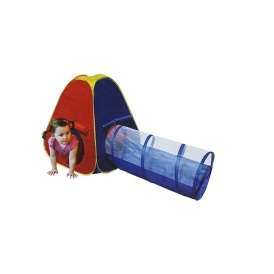 Pop Up Tent With Tunnel £9