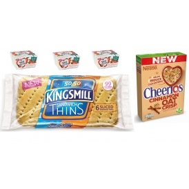 FREE Cereal, Sandwich Thins & Yogurt