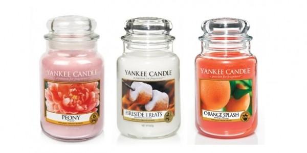 3 Large Jar Yankee Candles £45 Delivered @ Internet Gift Store