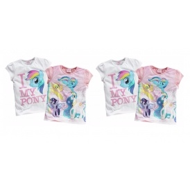 2 Pack My Little Pony T-shirts £6.66