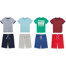 2 For £6 Mix & Match Shorts & T-shirts
