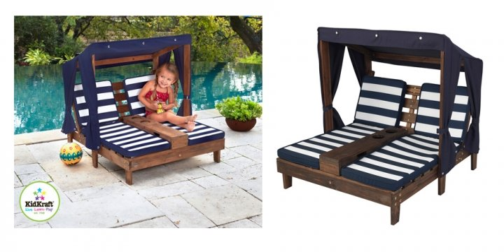 KidKraft Double Chaise Lounger £69 99 Delivered Costco
