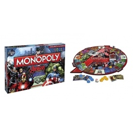 1/2 Price Monopoly Avengers Game