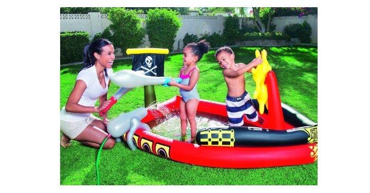 Bestway pirate pool delivered ebay seller - Family pool aldi ...