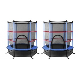 4.5ft Trampoline With Net £53.98 Delivered