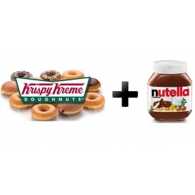 Nutella Doughnuts Coming To Krispy Kreme!
