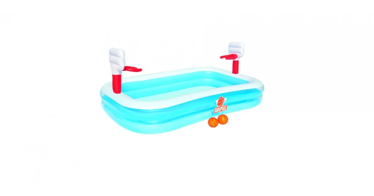 Basketball play pool 16 with free delivery tesco direct for Garden pool tesco