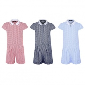 Ginghams School Playsuits From £4