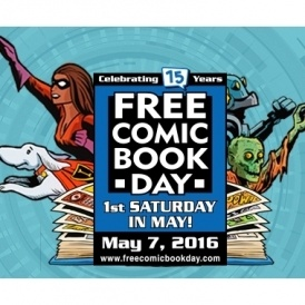 FREE Comic Book Day 7th May