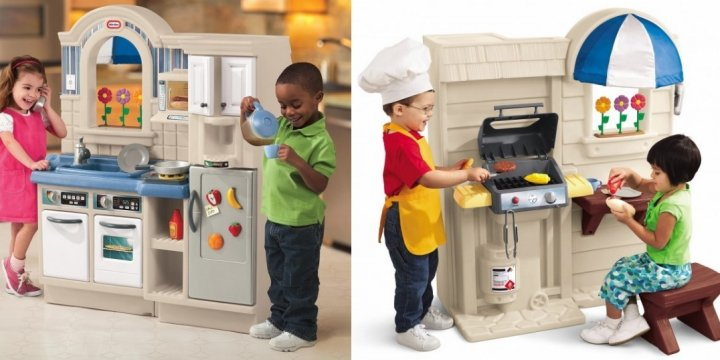 Little Tikes Inside Outside Cook N Grill Kitchen