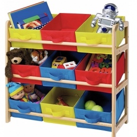 Three Tier Toy Basket Storage Unit £14.49