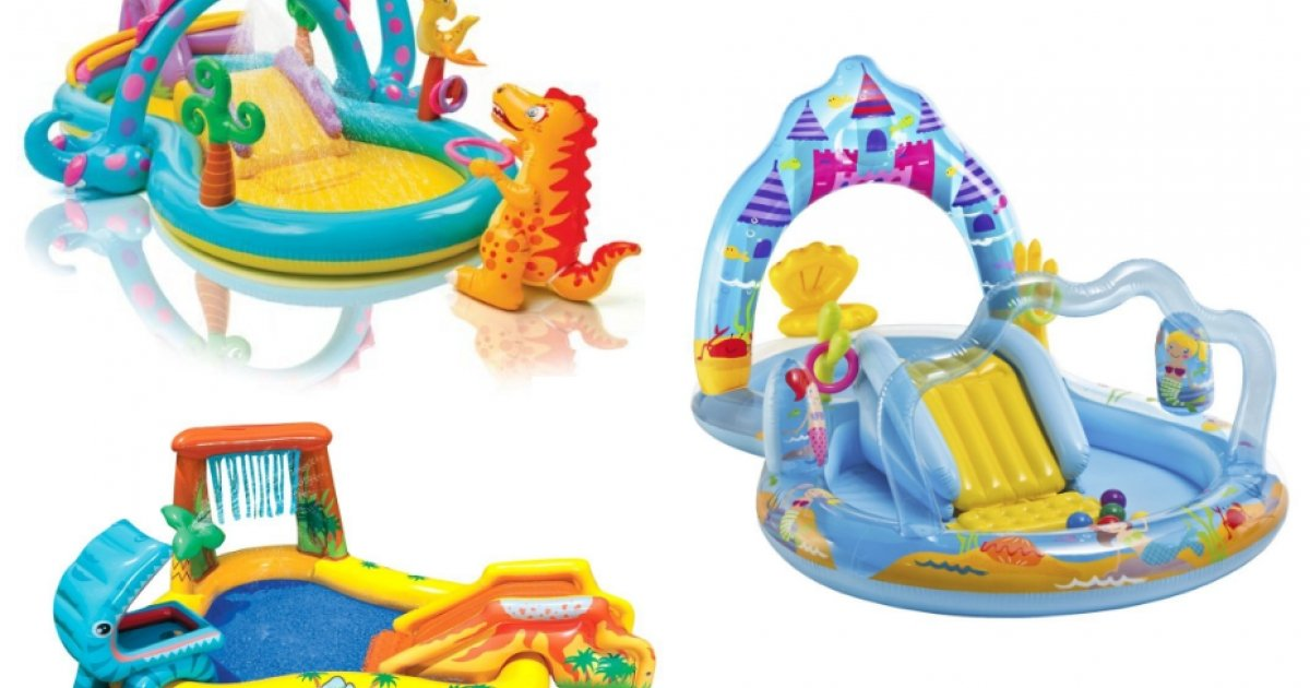 Pool play centres now from 24 delivered tesco direct for Garden pool tesco