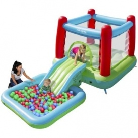 Bouncy Castle with Slide & Pool £80