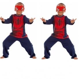 Spider-Man Boys' Blue Novelty Pyjamas £5.99