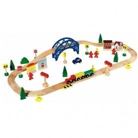 Chad Valley 60 Piece Train Set £7.99 @ Argos