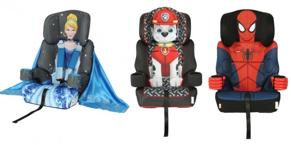 NEW Paw Patrol, Cinderella & Spiderman Car Seats £79.99 Delivered @ Tesco Direct