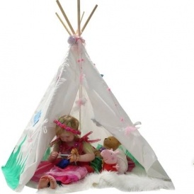 Decorate You Own Kids Teepee Play Tent