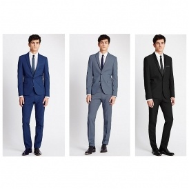 Suit, Shirt & Tie For £89 @ M&S