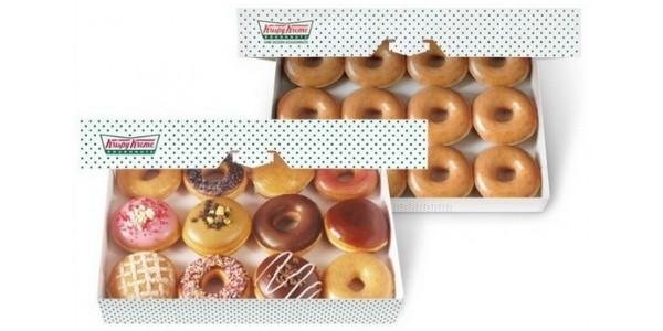 Krispy Kreme Double Dozen Doughnuts £13!