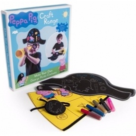 Peppa Pig Make Your Own Pirate Set £4.99