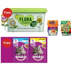 FREE Grocery Items (Worth £7.60)