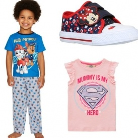 271 New Children's Lines Added To Sale @ F&F