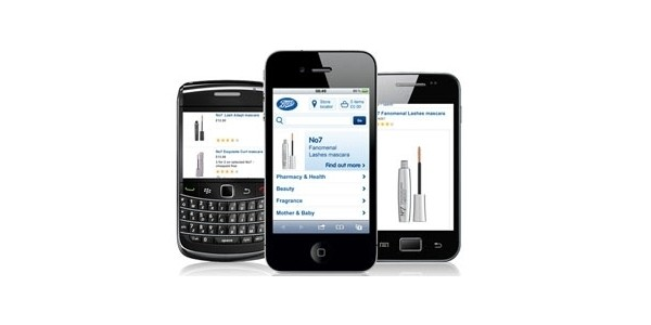 £5 Off When You Spend £40 @ Boots Mobile Site
