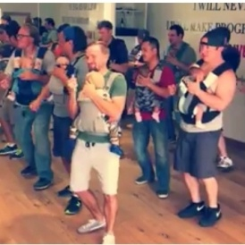 Parent-Baby Dance Class
