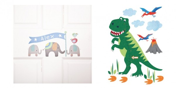 Save £5 On Selected Wall Stickers Plus FREE Delivery @ Jojo Maman Bebe