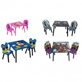 Disney Table & Chairs Sets £35