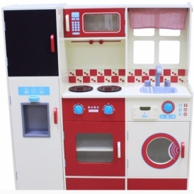 Wooden Kitchen & Laundry Set £55