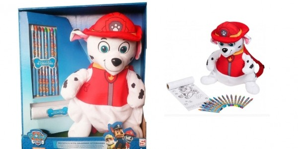 Paw Patrol Marshall Backpack With Accessories £14.99 @ Bargain Max